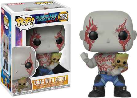 Guardians of the Galaxy: Vol. 2 - Drax with Groot US Exclusive Pop! Vinyl Figure - Pre-Order