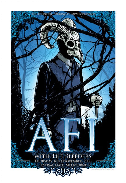 AFI & The Bleeders - 2006, Melbourne Limited Edition Print