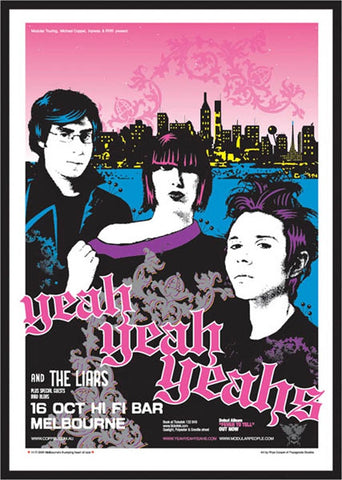 The Yeah Yeah Yeahs - Melbourne 2003 Limited Edition Print