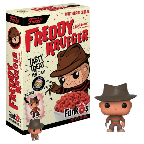 A Nightmare on Elm Street - FunkO's Cereal with Freddy Krueger Pocket Pop! Vinyl Figure - Pre-Order