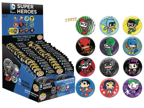 DC Super Heroes - Pop! Buttons Blind Bags
