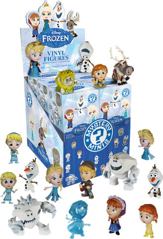 Frozen - Mystery Mini Blind Box Case of 12 Figures