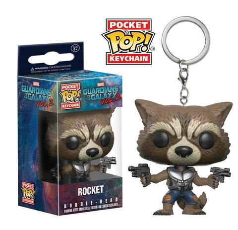 Guardians of the Galaxy: Vol. 2 - Rocket Pocket Pop! Keychain - Pre-Order