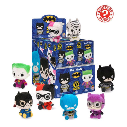 Batman - Plush Mystery Mini Blind Box Case of 12 Figures