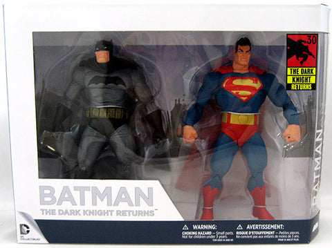 "Batman: The Dark Knight Returns - 30th Anniversary 7"" Action Figure 2-Pack"