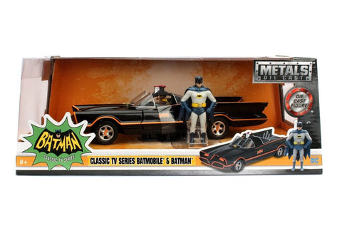 Batman - 1966 TV Series Batmobile with Figures 1:24 Scale - Pre-Order