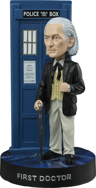 Doctor Who - 1st Doctor with TARDIS Bobble Head