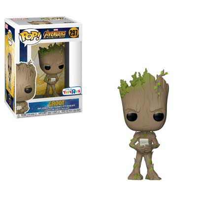 Avengers: Infinity War - Groot with Video Game Pop! Vinyl Figure - Pre-Order