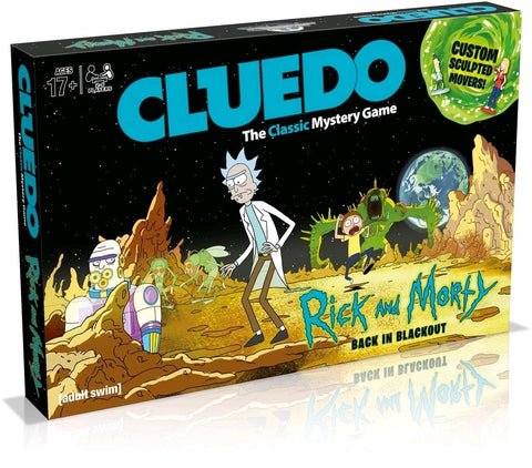 Cluedo - Rick and Morty Edition - Pre-Order