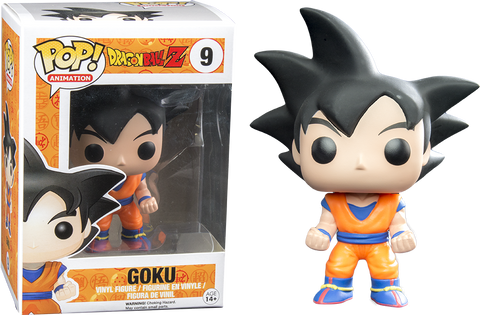 Dragon Ball Z - Goku Black Hair US Exclusive Pop! Vinyl Figure - Pre-Order