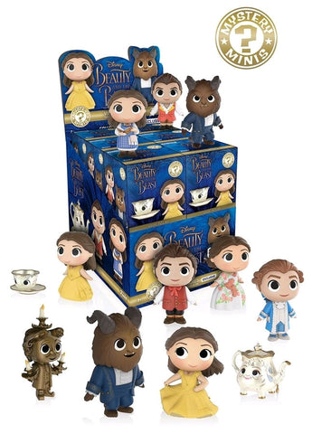 Beauty & the Beast (2017) - Hot Topic Exclusive Mystery Minis - Sealed Case of 12 Blind Boxes