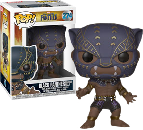 Black Panther - Black Panther in Warrior Falls Outfit Pop! Vinyl Figure - Pre-Order