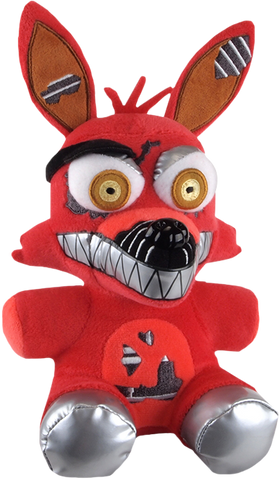 "Five Nights at Freddy's - Nightmare Foxy 6"" Plush"