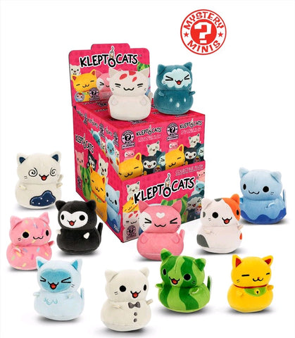 Kleptocats - Hot Topic Exclusive Plush Mystery Mini Blind Box Case of 12 Figures