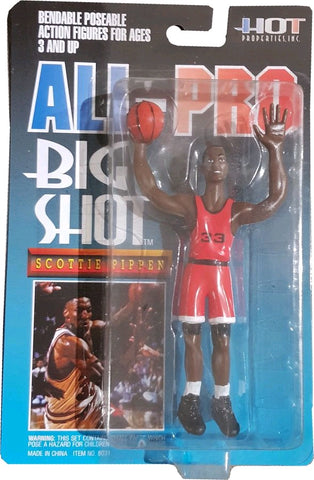 NBA - Scottie Pippen Bendable Figure