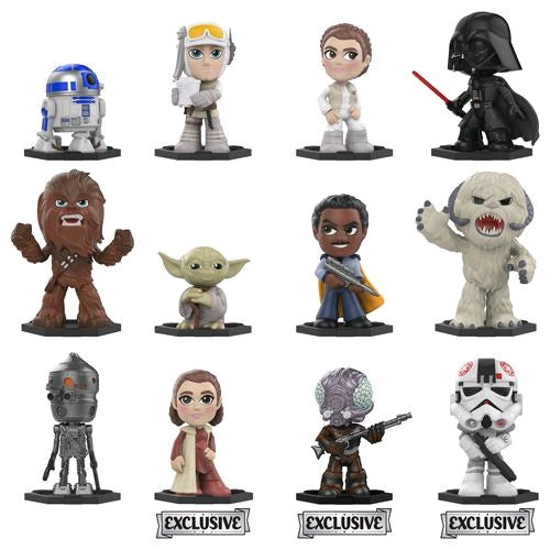 Star Wars - The Empire Strikes Back Gamestop Exclusive Mystery Mini Blind Box: Case Of 12 Figures - Pre-Order