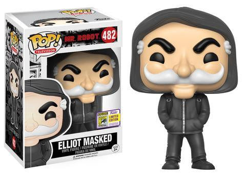 SDCC17 Exclusive - Mr. Robot Masked Elliot Alderson Pop! Vinyl Figure