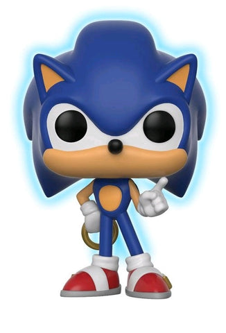 Sonic The Hedgehog - Sonic with Ring Glow in the Dark Pop! Vinyl Figure - Pre-Order