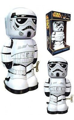 Star Wars - Stormtrooper 7 1/2-Inch Windup Tin Toy