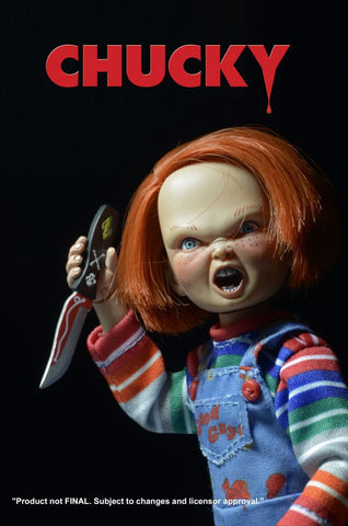 "Child's Play - Chucky 8"" Clothed Action Figure"