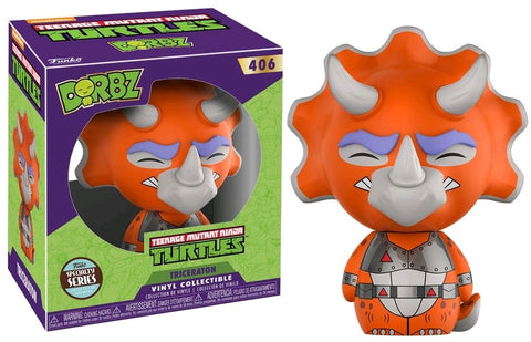 Teenage Mutant Ninja Turtles - Triceraton Specialty Store Dorbz Vinyl Figure - Pre-Order