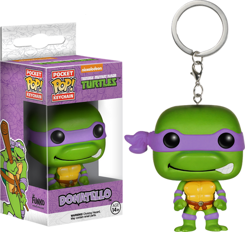 Teenage Mutant Ninja Turtles - Donatello Pocket Pop! Keychain