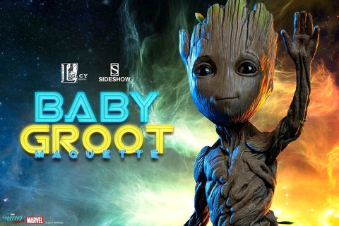 Guardians of the Galaxy: Vol. 2 - Baby Groot Life Sized Maquette - Pre-Order