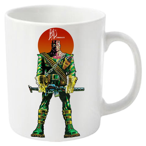 2000AD Bad Company Soldier Mug