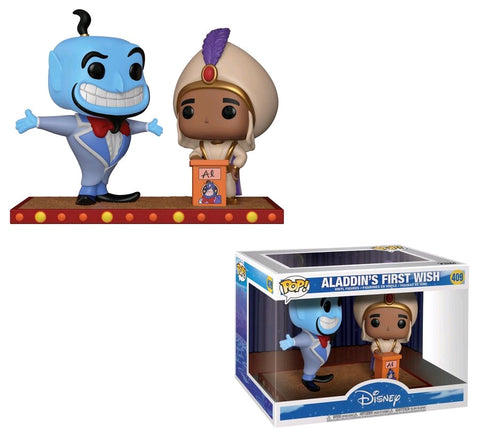 Aladdin - Aladdin's First Wish Movie Moments Pop! Vinyl Figure 2 Pack - Pre-Order