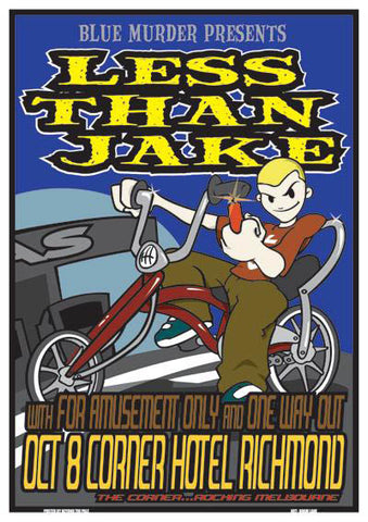 Less Than Jake - Melbourne Australia Limited Edition Print