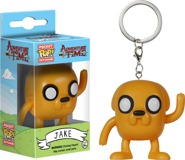 Adventure Time - Jake Pocket Pop! Keychain