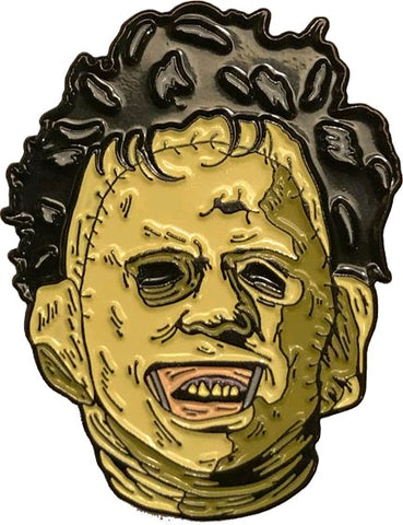 The Texas Chainsaw Massacre - Leatherface Enamel Pin - Pre-Order
