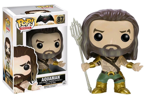 Batman Vs Superman: Dawn of Justice - Aquaman Pop! Vinyl Figure