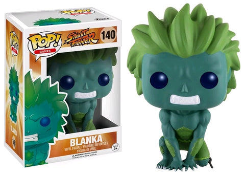 Street Fighter - Blanka Blue/Green Pop! Vinyl Figure