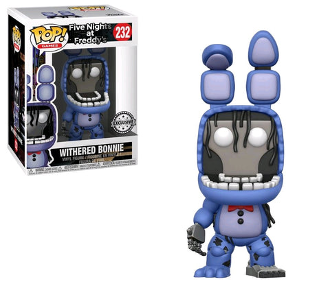 Five Nights at Freddy's - Withered Bonnie Pop! Vinyl Figure - Pre-Order