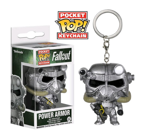 Fallout - Power Armour Pocket Pop! Keychain