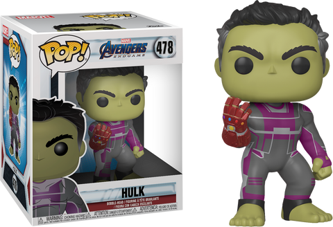 "Avengers: Endgame - Hulk with Infinity Gauntlet Super Sized 6"" Pop! Vinyl Figure - Pre-Order"