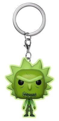 Rick and Morty - Toxic Rick Glow Pocket Pop! Keychain