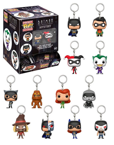 Batman: The Animated Series - Pocket Pop! Keychain Blind Bags - Pre-Order