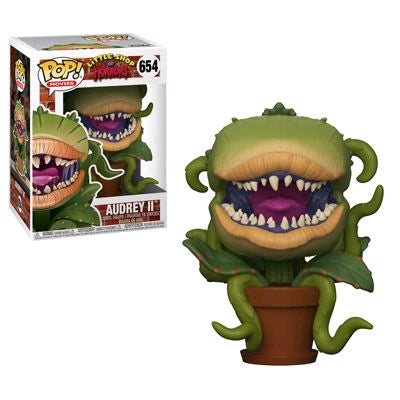 Little Shop of Horrors - Audrey II Pop! Vinyl Figure: Case of 6 with A Chase - Pre-Order