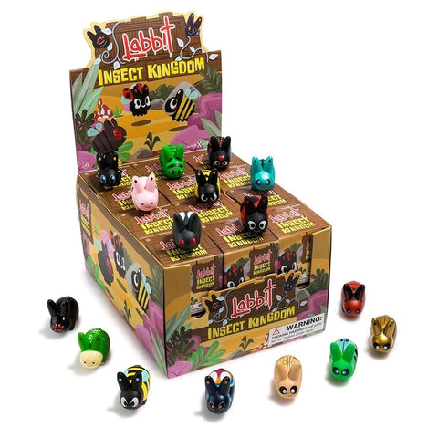 Kozik - Labbit Insect Kingdom Mystery Mini Blind Box Case of 24 Figures