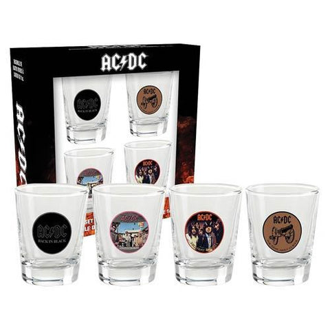 AC/DC Shot Glass Set