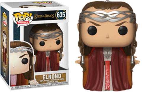 The Lord of the Rings - Elrond Pop! Vinyl Figure - Pre-Order