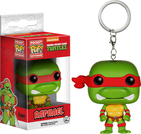 Teenage Mutant Ninja Turtles - Raphael Pocket Pop! Keychain