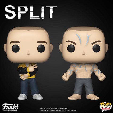 Split - Set of 2 Pop! Vinyl Figures - Pre-Order