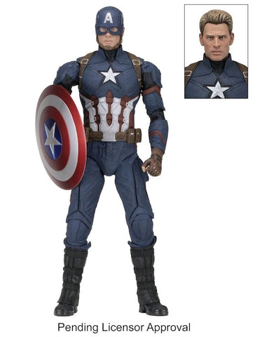 Captain America: Civil War - Captain America 1:4 Scale Action Figure - Pre-Order