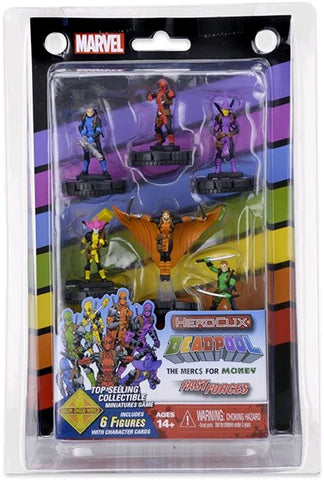 Deadpool - Heroclix Mercs 4 Money Fast Forces 6-Pack