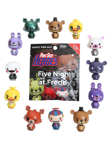 Five Nights at Freddy's - Hot Topic Exclusive Pint Size Heroes Mystery Mini Blind Bags Case of 24 Figures