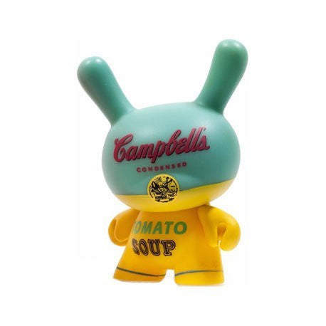 Dunny - Andy Warhol Series 2 - Loose Mystery Mini Dunny Figure: Campbells Soup Can