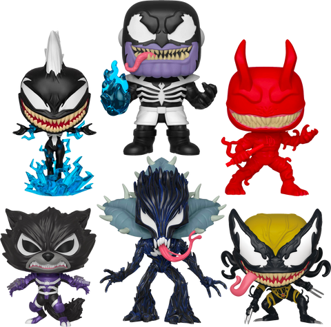 Venom - Venomized Pop! Vinyl Bundle Set of 6 - Pre-Order